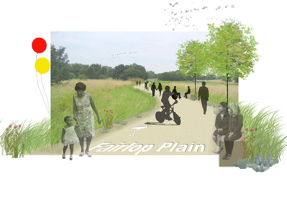 Hoghill Greenway making space
