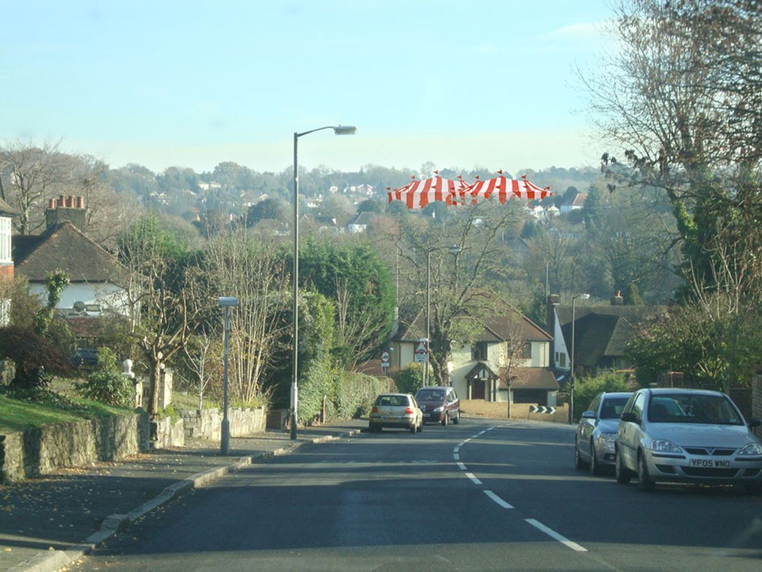 <p>the fair comes to the downlands</p>