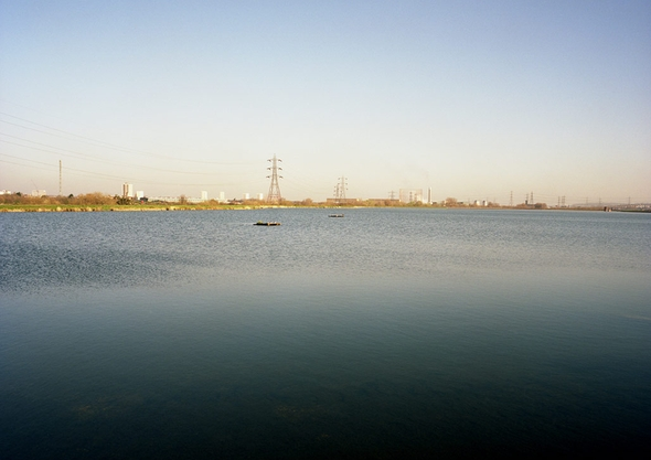 Walthamstow Wetlands - As Found - an Engineered Landscape Strucutre